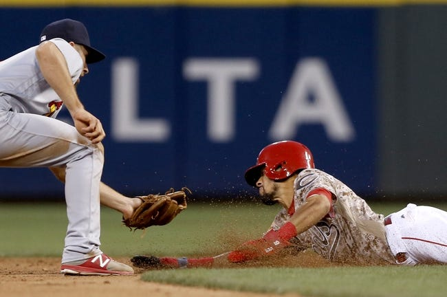 Cincinnati Reds vs. St. Louis Cardinals - 8/5/17 MLB Pick, Odds, and Prediction