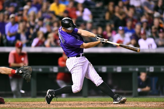 Colorado Rockies vs. Philadelphia Phillies - 8/6/17 MLB Pick, Odds, and Prediction
