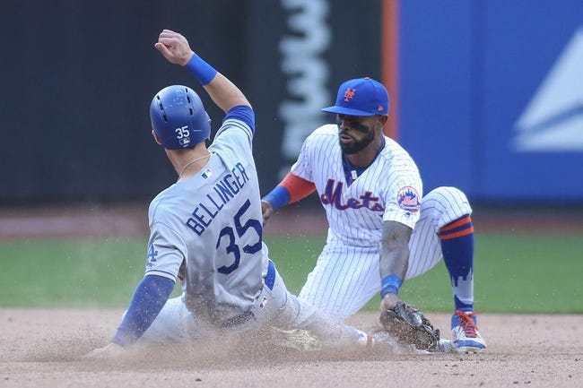 New York Mets vs. Los Angeles Dodgers - 8/6/17 MLB Pick, Odds, and Prediction
