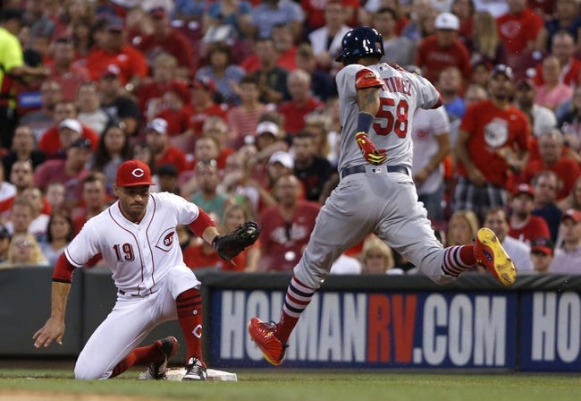 Cincinnati Reds vs. St. Louis Cardinals - 8/6/17 MLB Pick, Odds, and Prediction
