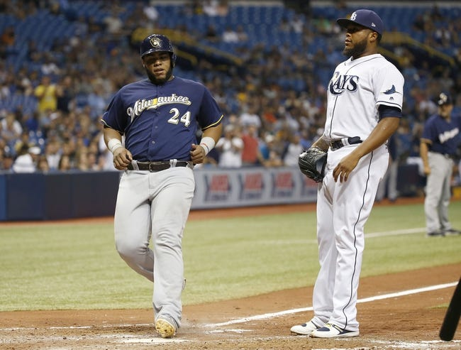 Tampa Bay Rays vs. Milwaukee Brewers - 8/6/17 MLB Pick, Odds, and Prediction