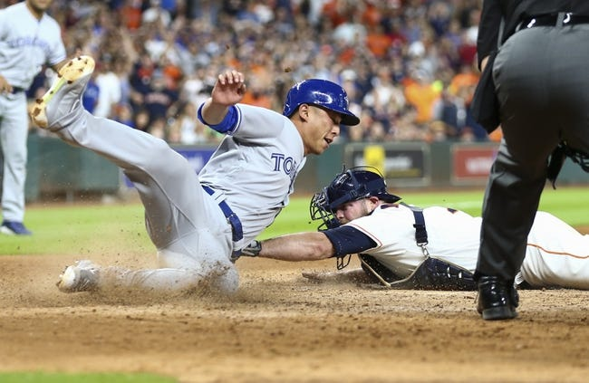 Houston Astros vs. Toronto Blue Jays - 8/6/17 MLB Pick, Odds, and Prediction