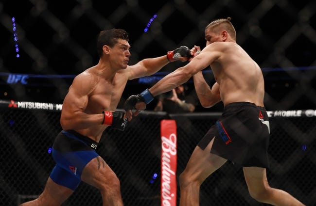 Alan Jouban vs. Danny Roberts UFC Fight Night 134 Pick, Preview, Odds, Prediction - 7/22/18