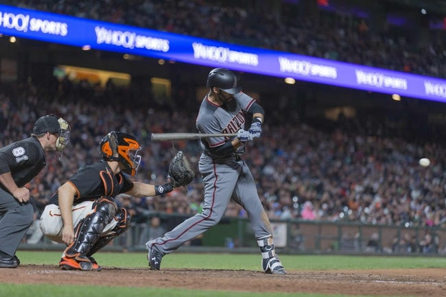 San Francisco Giants vs. Arizona Diamondbacks - 8/6/17 MLB Pick, Odds, and Prediction