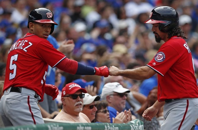 Chicago Cubs at Washington Nationals NLDS Game 1 - 10/6/17 MLB Pick, Odds, and Prediction
