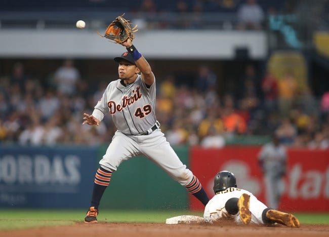 Pittsburgh Pirates vs. Detroit Tigers - 8/8/17 MLB Pick, Odds, and Prediction
