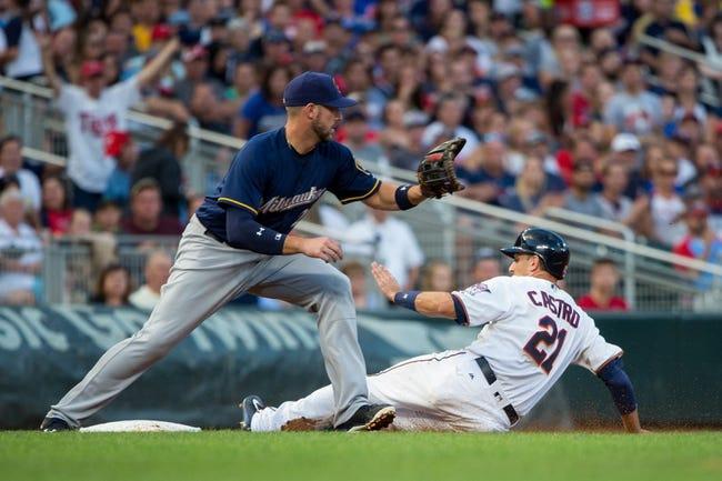Minnesota Twins vs. Milwaukee Brewers - 8/8/17 MLB Pick, Odds, and Prediction