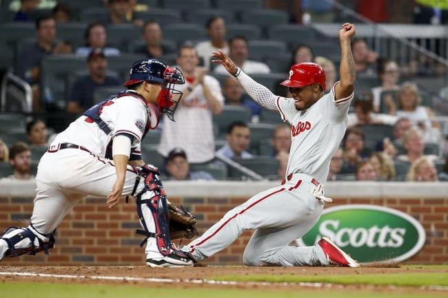 Atlanta Braves vs. Philadelphia Phillies - 8/9/17 MLB Pick, Odds, and Prediction