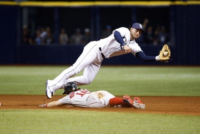 Tampa Bay Rays vs. Boston Red Sox - 8/9/17 MLB Pick, Odds, and Prediction