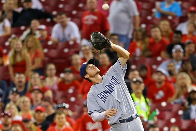 Cincinnati Reds vs. San Diego Padres - 8/9/17 MLB Pick, Odds, and Prediction