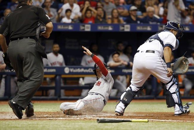 Boston Red Sox vs. Tampa Bay Rays - 9/8/17 MLB Pick, Odds, and Prediction