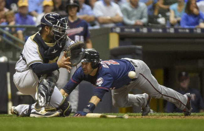 Milwaukee Brewers vs. Minnesota Twins - 8/10/17 MLB Pick, Odds, and Prediction