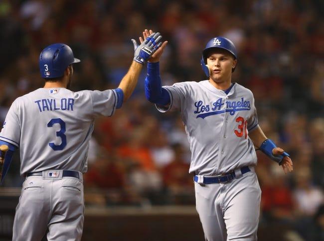 Arizona Diamondbacks vs. Los Angeles Dodgers - 8/10/17 MLB Pick, Odds, and Prediction