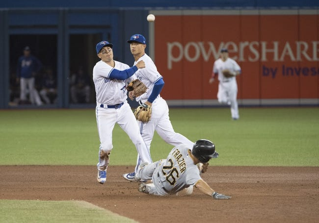 Toronto Blue Jays vs. Pittsburgh Pirates - 8/12/17 MLB Pick, Odds, and Prediction