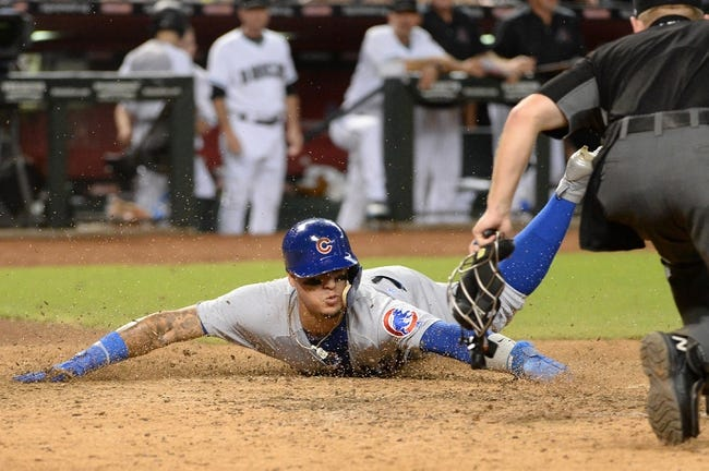 Arizona Diamondbacks vs. Chicago Cubs - 8/12/17 MLB Pick, Odds, and Prediction
