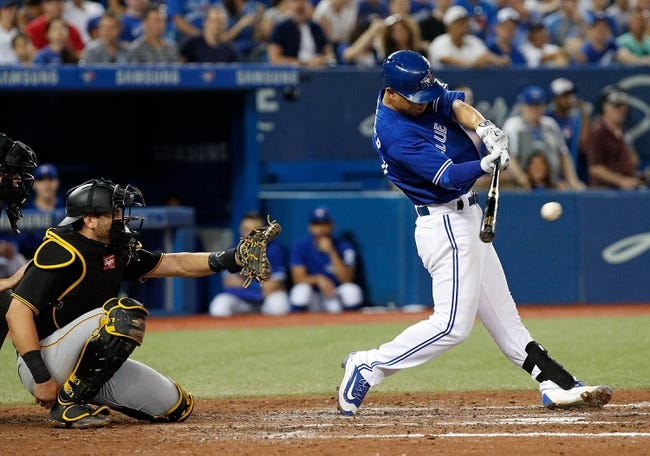 Toronto Blue Jays vs. Pittsburgh Pirates - 8/13/17 MLB Pick, Odds, and Prediction