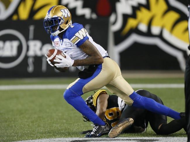 Winnipeg Blue Bombers vs. BC Lions CFL Pick, Odds, Prediction - 7/7/18