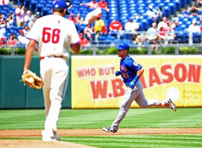 New York Mets vs. Philadelphia Phillies - 9/4/17 MLB Pick, Odds, and Prediction