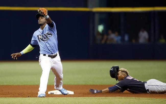 Cleveland Indians vs. Tampa Bay Rays - 8/31/18 MLB Pick, Odds, and Prediction