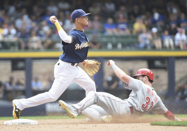 Cincinnati Reds vs. Milwaukee Brewers - 9/4/17 MLB Pick, Odds, and Prediction