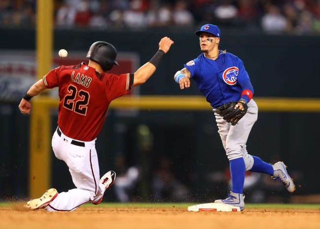 MLB | Arizona Diamondbacks (54-46) at Chicago Cubs (58-40)