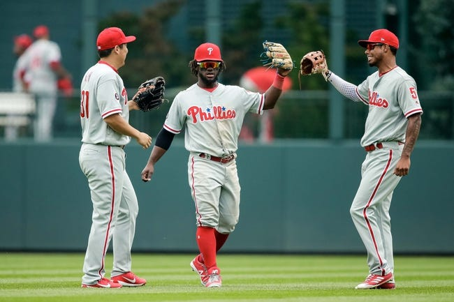 MLB | Colorado Rockies (32-33) at Philadelphia Phillies (33-30)