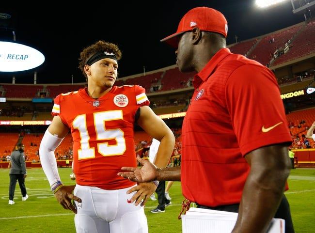 San Francisco 49ers at Kansas City Chiefs - 9/23/18 NFL Pick, Odds, and Prediction