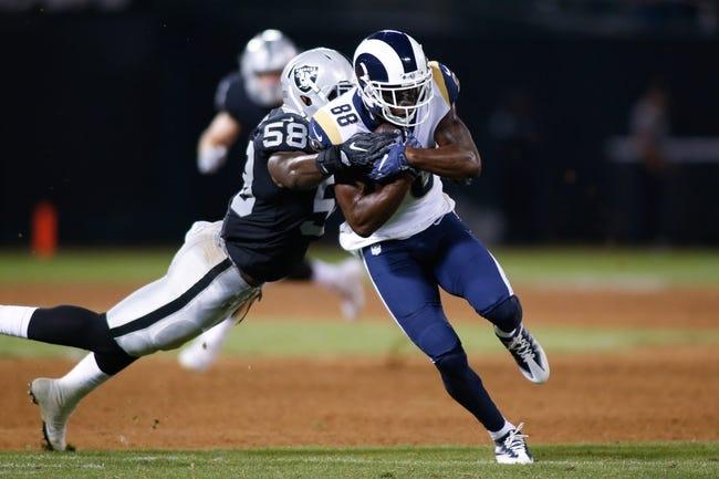 NFL | Oakland Raiders (6-10) at Los Angeles Rams (11-6)