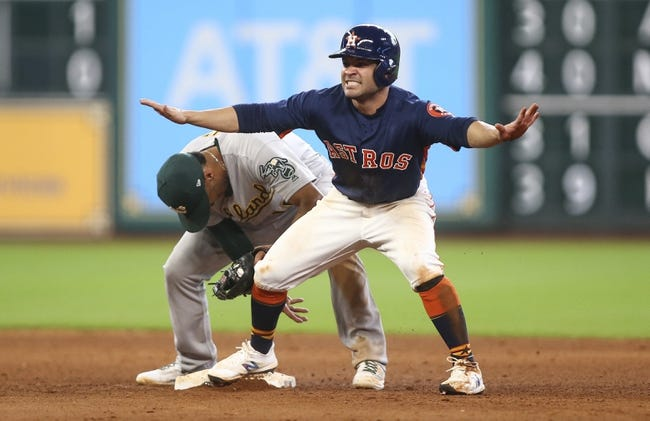Oakland Athletics vs. Houston Astros - 9/8/17 MLB Pick, Odds, and Prediction