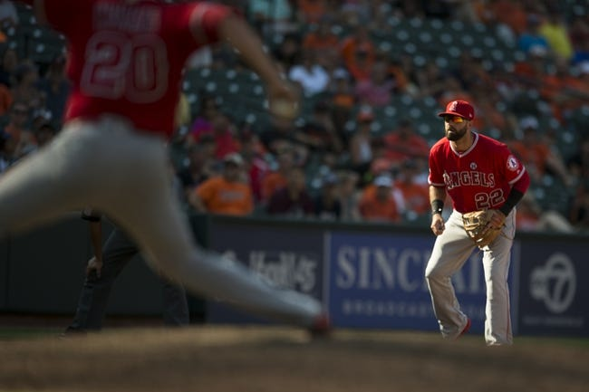 Los Angeles Angels vs. Baltimore Orioles - 5/1/18 MLB Pick, Odds, and Prediction