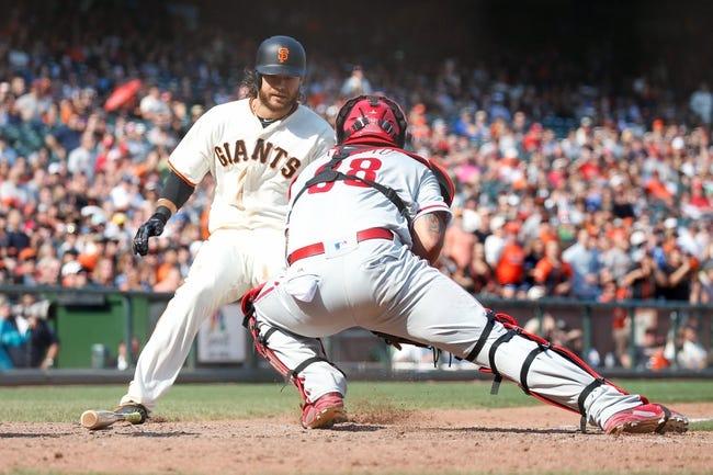 MLB | San Francisco Giants (19-15) at Philadelphia Phillies (18-15)