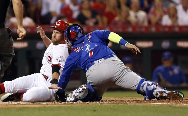 Chicago Cubs vs. Cincinnati Reds - 9/29/17 MLB Pick, Odds, and Prediction