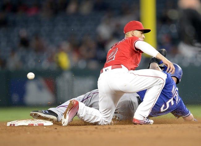 Texas Rangers vs. Los Angeles Angels - 9/1/17 MLB Pick, Odds, and Prediction