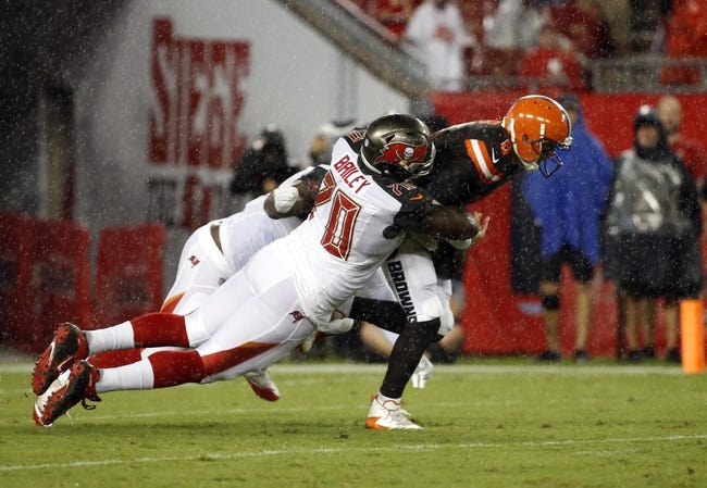 Tampa Bay Buccaneers vs. Cleveland Browns - 10/21/18 NFL Pick, Odds, and Prediction
