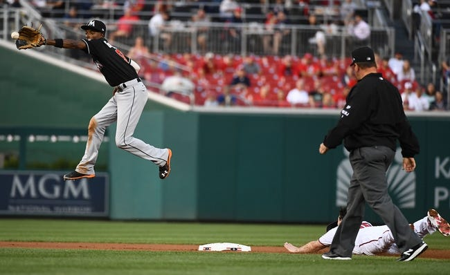 Washington Nationals vs. Miami Marlins - 8/29/17 MLB Pick, Odds, and Prediction