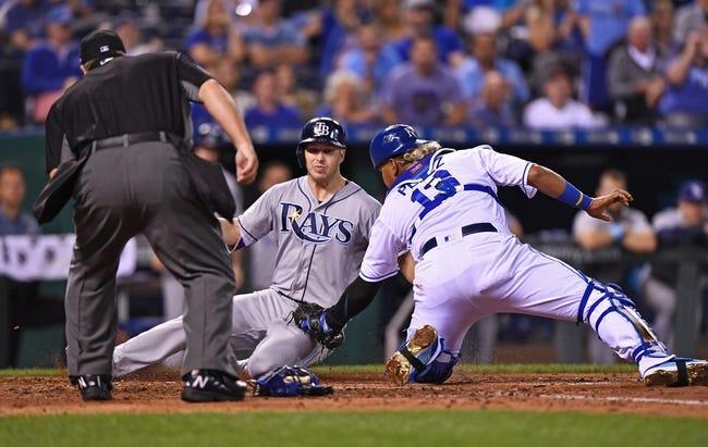 Kansas City Royals vs. Tampa Bay Rays - 8/29/17 MLB Pick, Odds, and Prediction