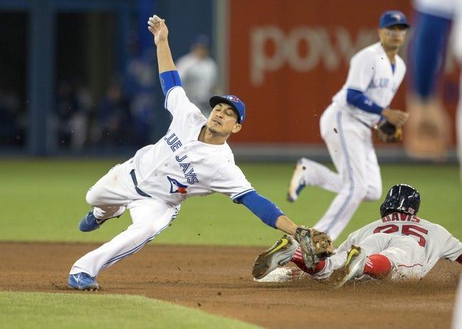 Toronto Blue Jays vs. Boston Red Sox - 8/30/17 MLB Pick, Odds, and Prediction