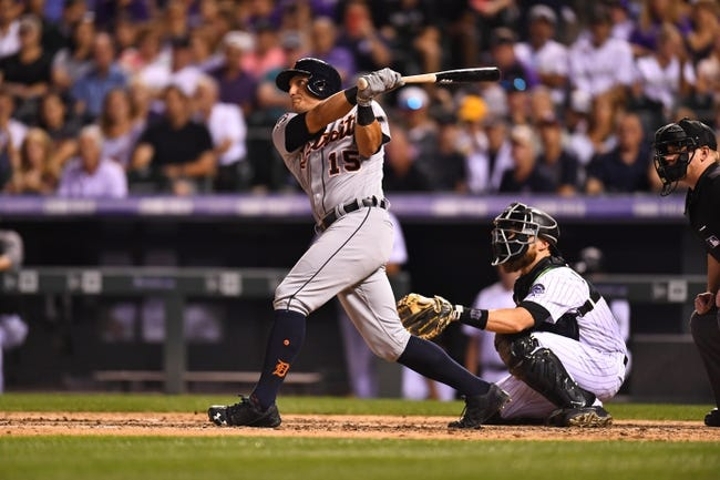 Colorado Rockies vs. Detroit Tigers - 8/30/17 MLB Pick, Odds, and Prediction