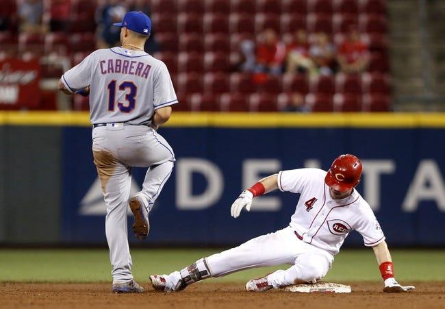 Cincinnati Reds vs. New York Mets - 8/30/17 MLB Pick, Odds, and Prediction