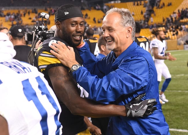 Indianapolis Colts vs. Pittsburgh Steelers - 11/12/17 NFL Pick, Odds, and Prediction