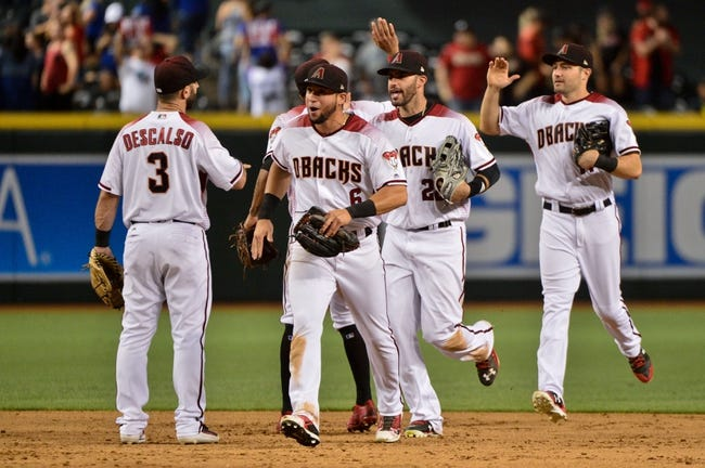 Arizona Diamondbacks vs. Los Angeles Dodgers - 8/31/17 MLB Pick, Odds, and Prediction
