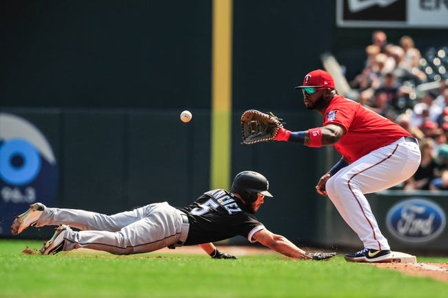 Minnesota Twins vs. Chicago White Sox - 4/12/18 MLB Pick, Odds, and Prediction