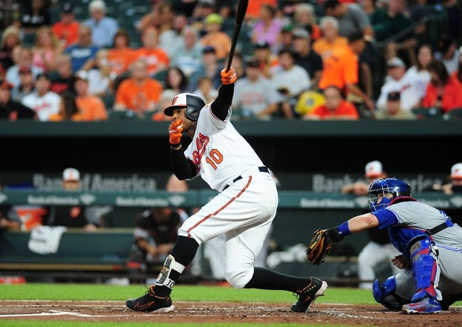 Baltimore Orioles vs. Toronto Blue Jays - 9/1/17 MLB Pick, Odds, and Prediction