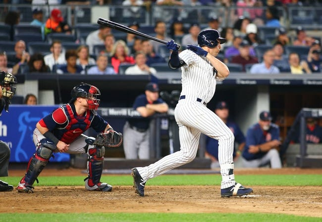 New York Yankees vs. Boston Red Sox - 9/1/17 MLB Pick, Odds, and Prediction