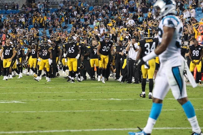Pittsburgh Steelers vs. Carolina Panthers - 8/30/18 NFL Pick, Odds, and Prediction