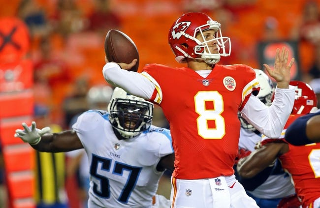 Tennessee Titans at Kansas City Chiefs - 1/6/18 NFL Pick, Odds, and Prediction