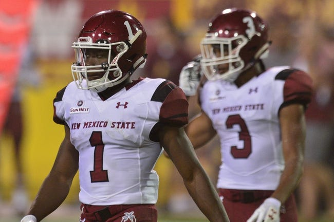 Utah State at New Mexico State - Arizona Bowl - 12/29/17 College Football Pick, Odds, and Prediction