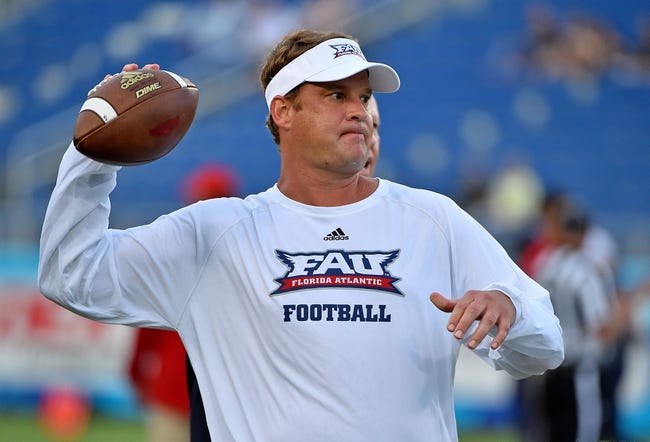 Florida Atlantic vs. Middle Tennessee - 9/30/17 College Football Pick, Odds, and Prediction