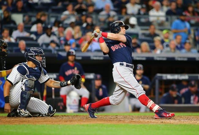New York Yankees vs. Boston Red Sox - 9/2/17 MLB Pick, Odds, and Prediction