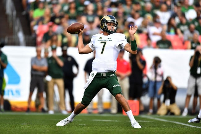 Hawaii vs. Colorado State - 10/1/17 College Football Pick, Odds, and Prediction